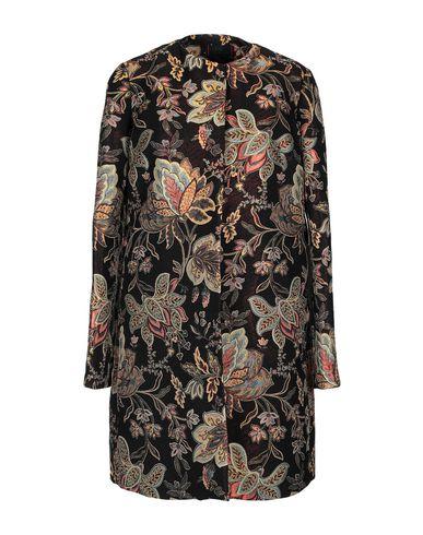 FEMME BY MICHELE ROSSI Full-Length Jacket in Black