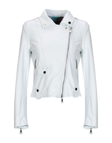 STEWART Biker Jacket in White