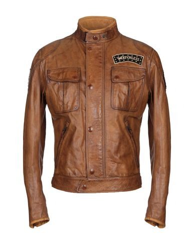 MATCHLESS Leather Jacket in Brown