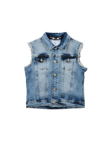 3154757a41d Philipp Plein Denim Jacket Girl 9-16 years online on YOOX United Kingdom
