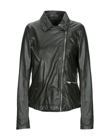 WLG BY GIORGIO BRATO Biker Jacket in Dark Green