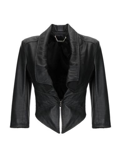 MANGANO Leather Jacket in Black