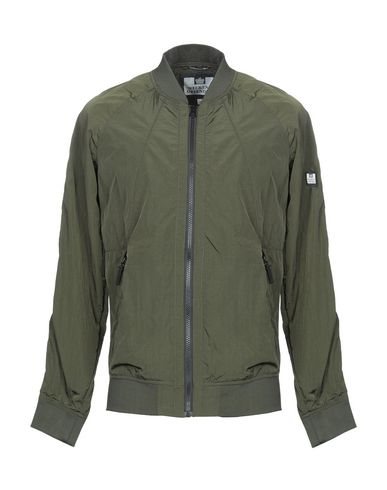 WEEKEND OFFENDER Bomber in Military Green