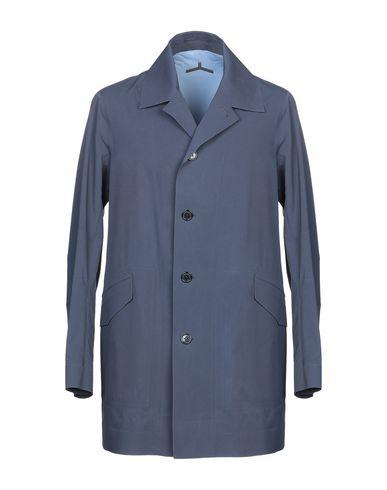 ESEMPLARE Full-Length Jacket in Dark Blue
