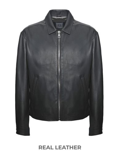 8 by YOOX - Leather jacket