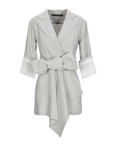 MALLONI Full-Length Jacket in Light Grey