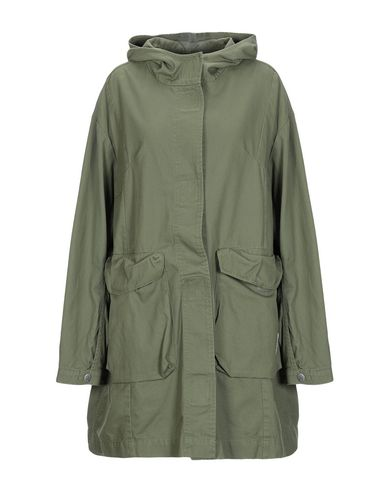 CHEAP MONDAY Full-Length Jacket in Military Green