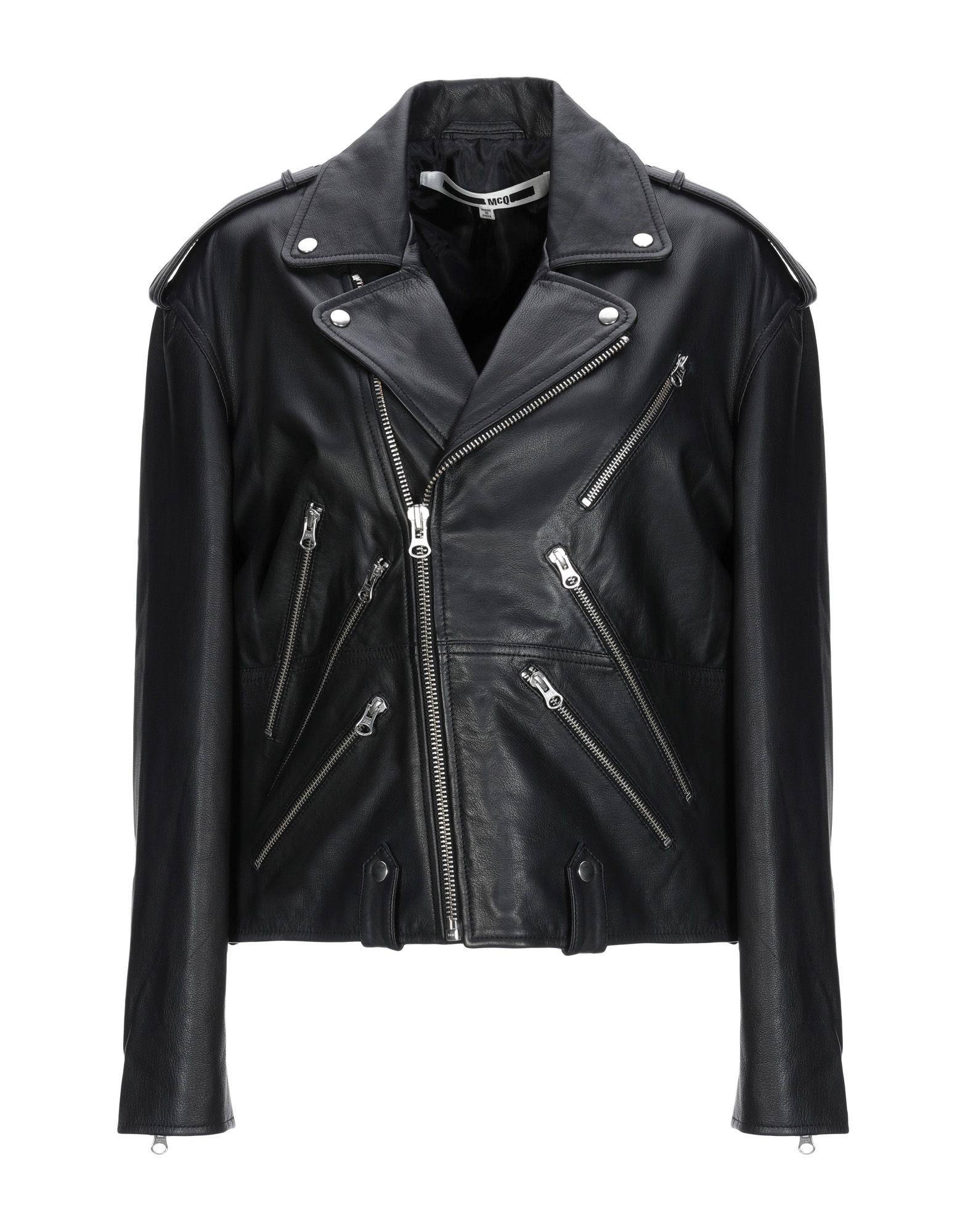 225d511b61f56 Mcq Alexander Mcqueen Biker Jacket - Women Mcq Alexander Mcqueen ...