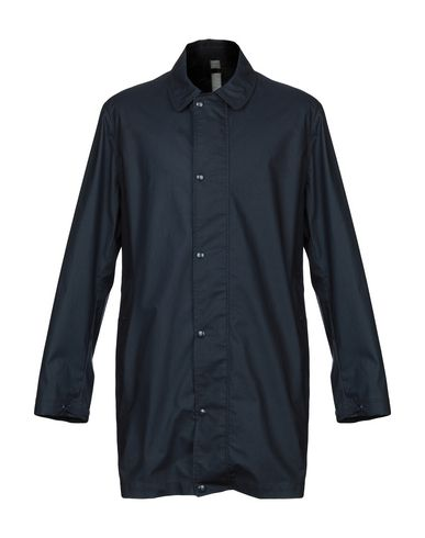 SEMPACH Overcoats in Dark Blue
