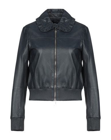 sale online size 7 store Max & Co. Leather Jacket - Women Max & Co. Leather Jackets online ...