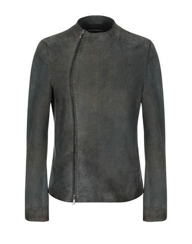 EMPORIO ARMANI - Leather jacket