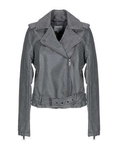 new products 7228d 42885 PEPE JEANS Biker jacket - Coats & Jackets | YOOX.COM