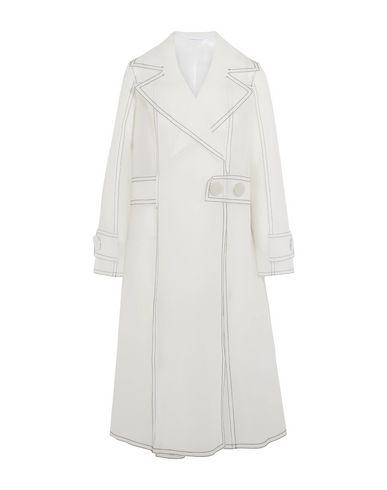 Wanda Nylon Full-Length Jacket In Ivory
