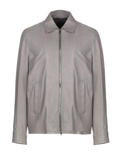 19da56b4 PRADA Leather jacket - Coats & Jackets | YOOX.COM