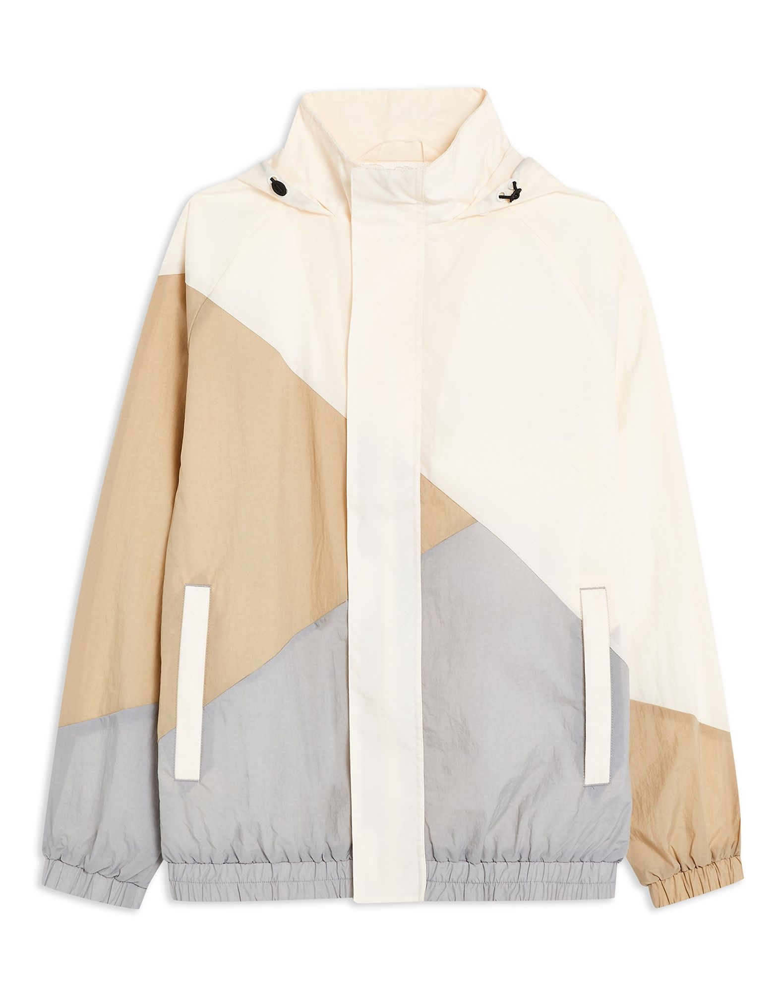 Bomber Topman Ecru Zip Through Colourblock W - herren - 41875717KS