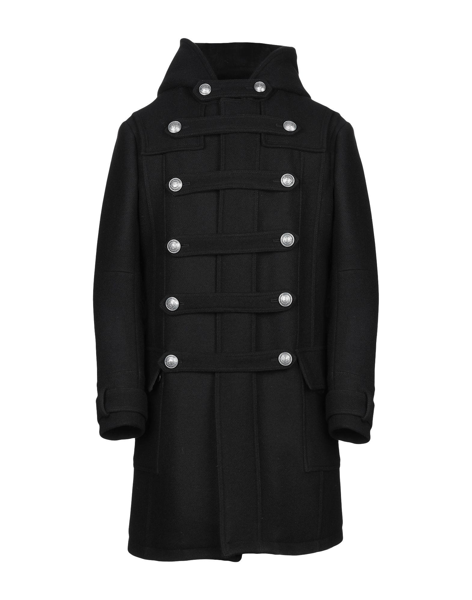 ef3eb8e2bf6 Balmain Coat - Men Balmain Coats online on YOOX Portugal - 41882250EE