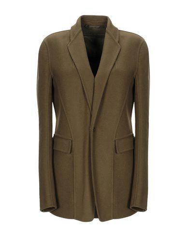 Rick Owens Coat In Military Green
