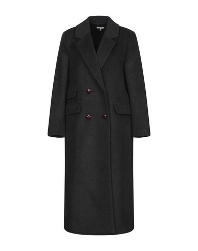 select for genuine lowest price the best GANNI Coat - Coats & Jackets   YOOX.COM