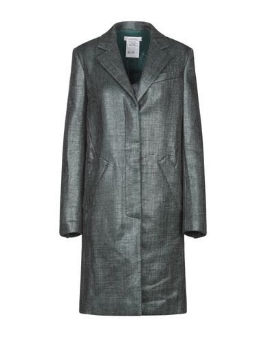 Versace Coat In Emerald Green