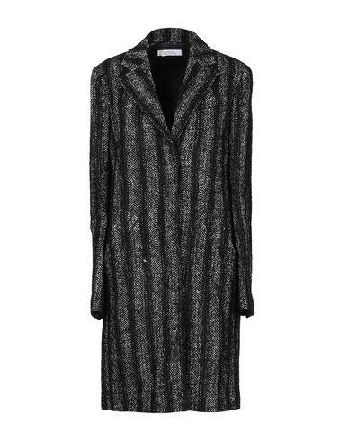 Versace Coat In Black