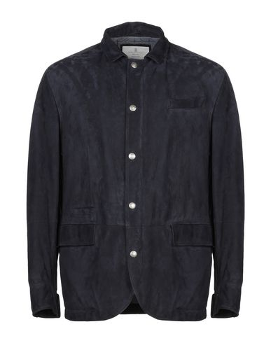 BRUNELLO CUCINELLI - Leather jacket