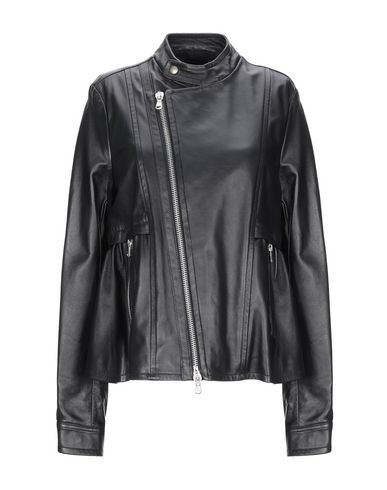 Diesel Black Gold Biker Jacket In Black