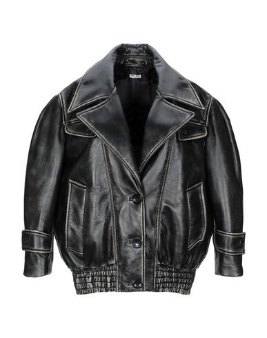 Miu Miu Jackets Leather jacket