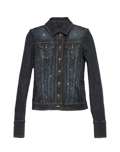 Philipp Plein Jackets Denim jacket