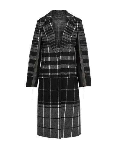 Calvin Klein Collection Coat In Black