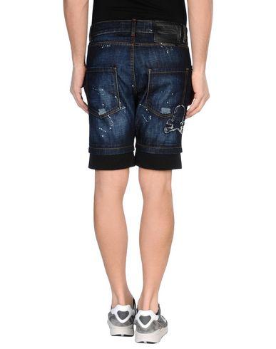 PHILIPP PLEIN Shorts vaqueros