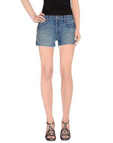 CANDICE SWANEPOEL + MOTHER Denim Shorts in Blue