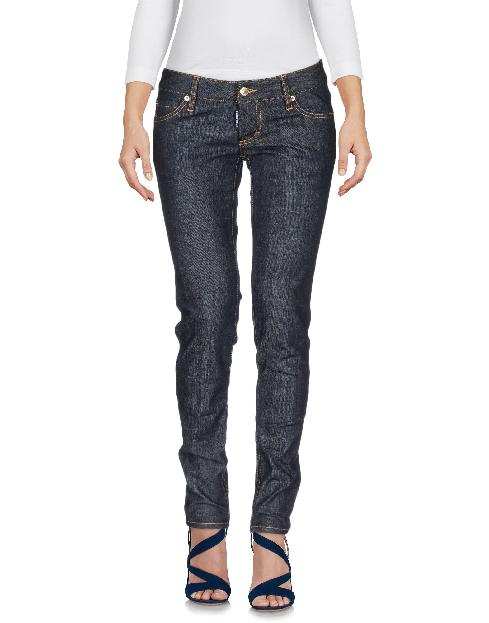 Pantaloni Pantaloni Jeans Dsquarosso2 donna - 42525649OW