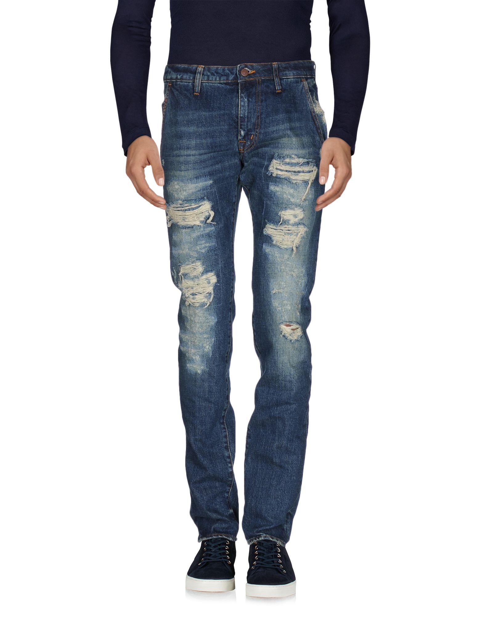 Pantaloni Jeans (+) People herren - 42526083OV