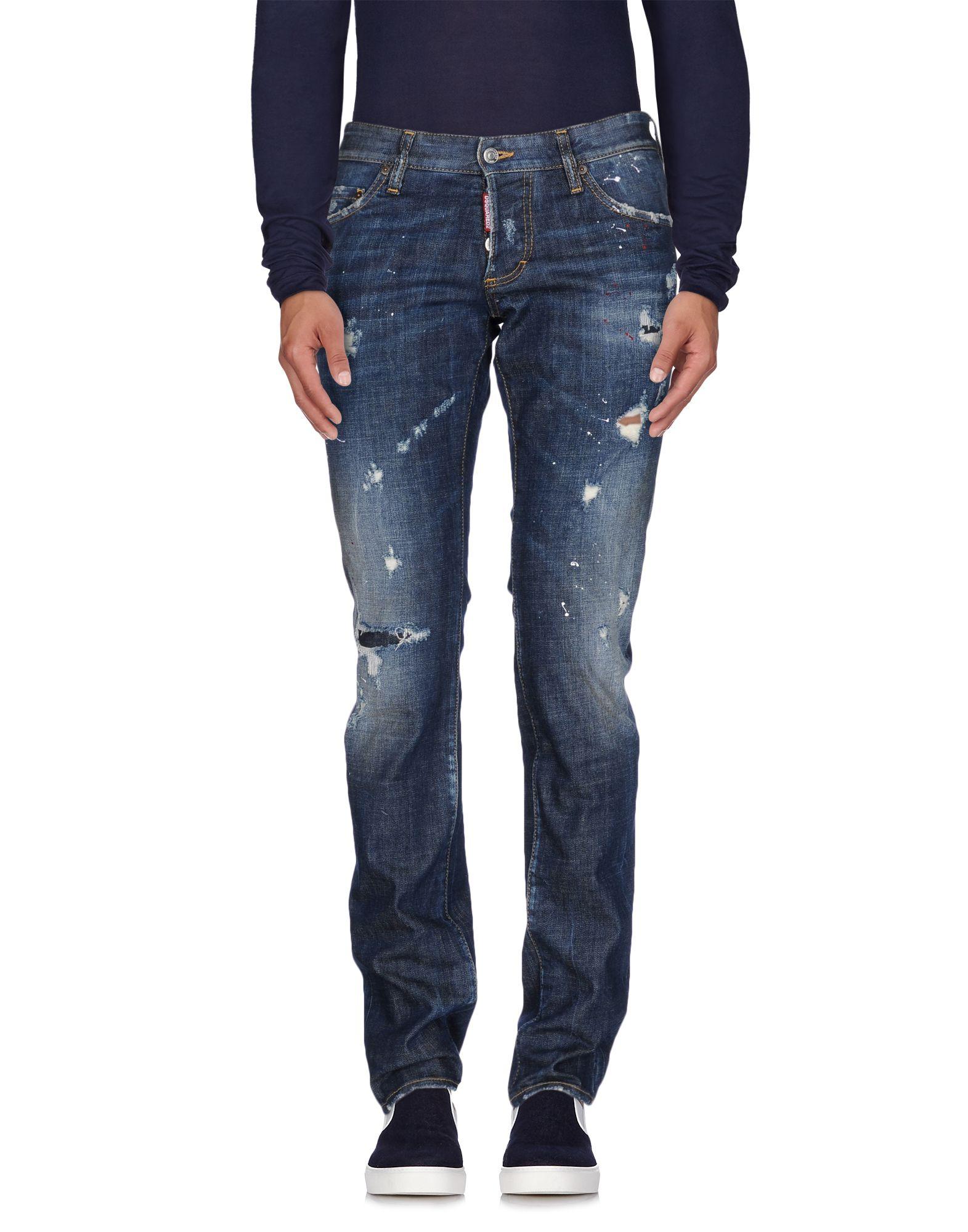 Pantaloni Jeans Dsquarosso2 uomo - - - 42532837WM 8aa