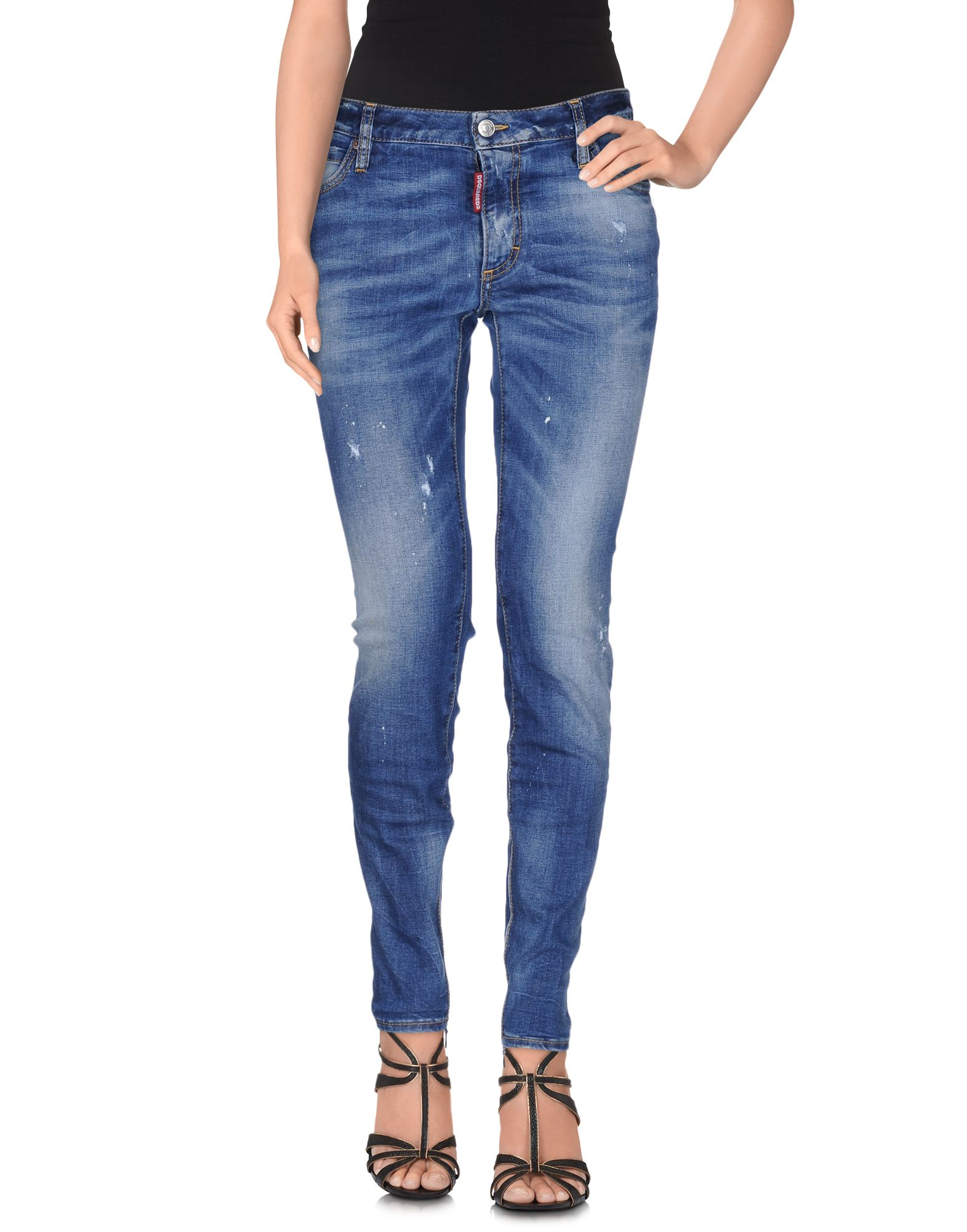 Pantaloni Jeans Dsquarosso2 donna - 42533509BG 42533509BG 42533509BG 9e3