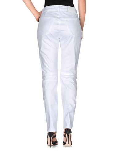 PIERRE BALMAIN DENIM PANTS, WHITE