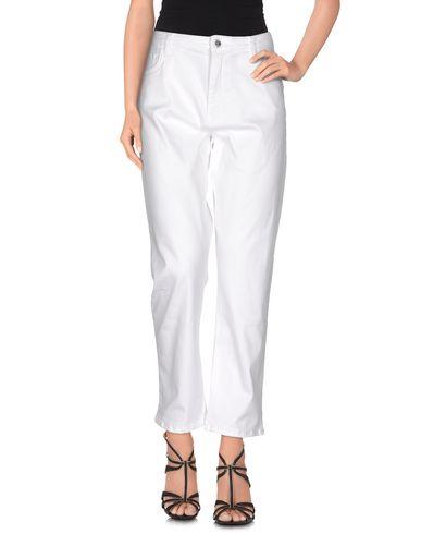 Love Moschino Denim Pants In White