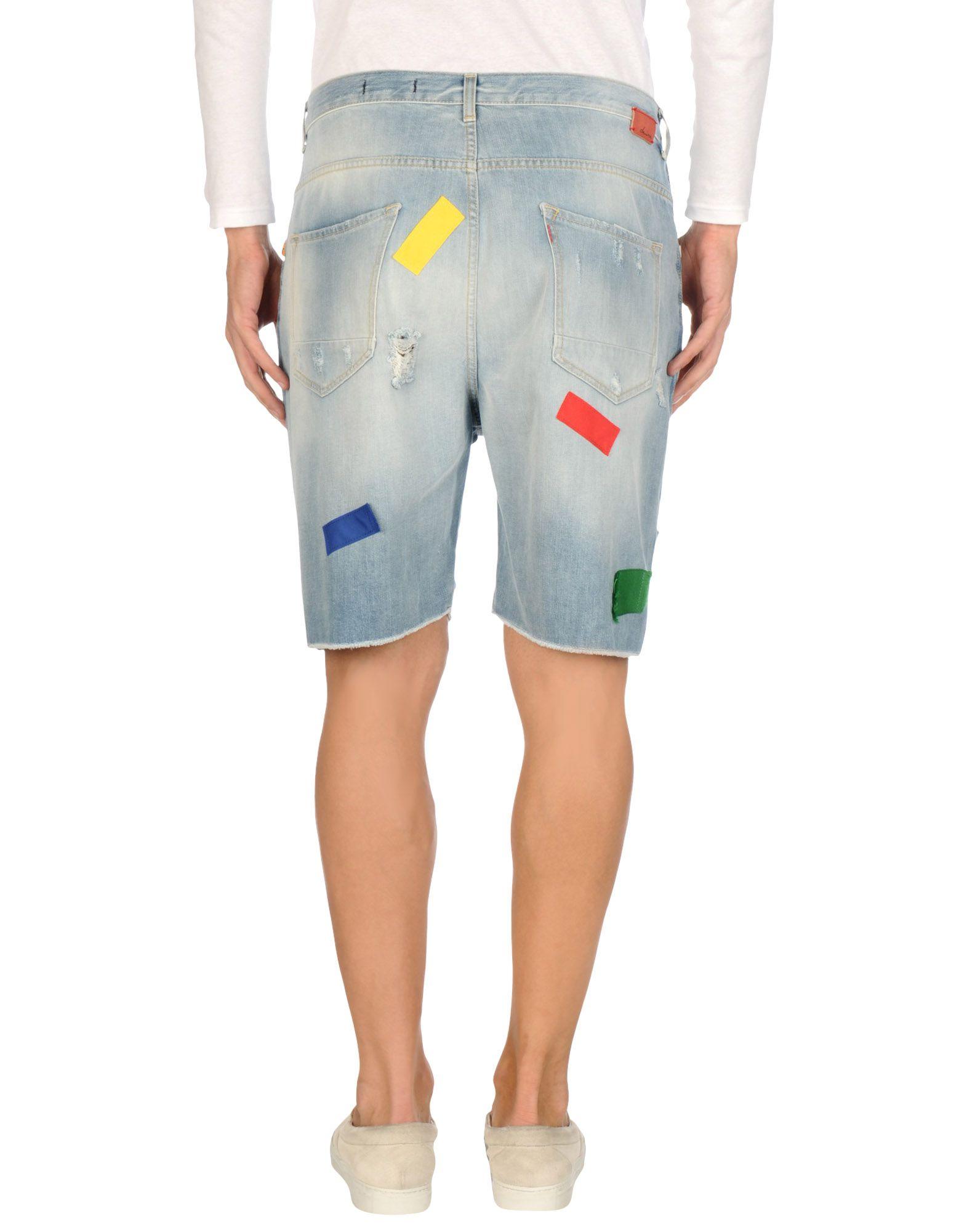 Shorts Jeans Daniele Alessandrini - Uomo - Alessandrini 42545572LE 79270d