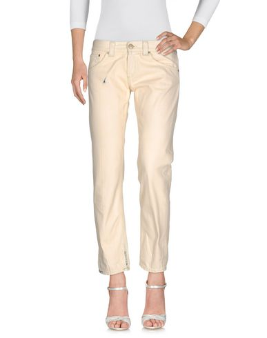 DONDUP DENIM PANTS, IVORY