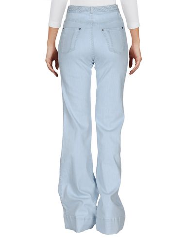 Alice And Olivia Denim Pants, Blue