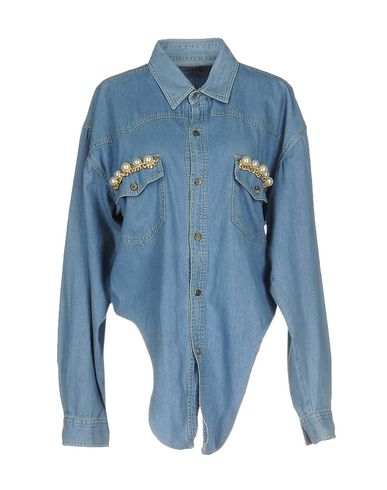 Forte Couture Denim Shirt - Women Forte Couture Denim Shirts online on YOOX United States - 4254983