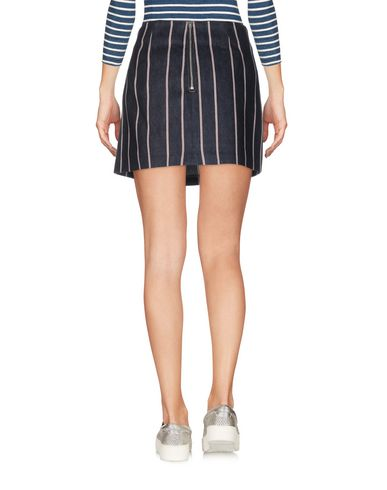 T BY ALEXANDER WANG DENIM SKIRT, BLUE