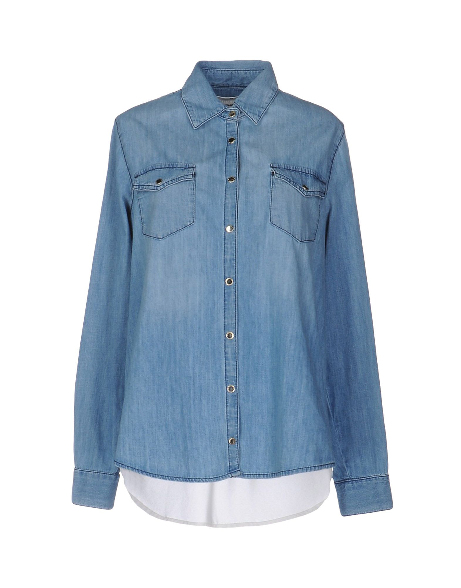 b16dc1d79aa00 Camisas Vaqueras Elisabetta Franchi Jeans para Mujer para Colección  Primavera-Verano y Otoño-Invierno