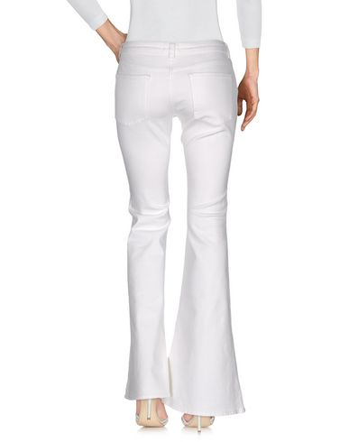 ACNE STUDIOS DENIM PANTS, WHITE