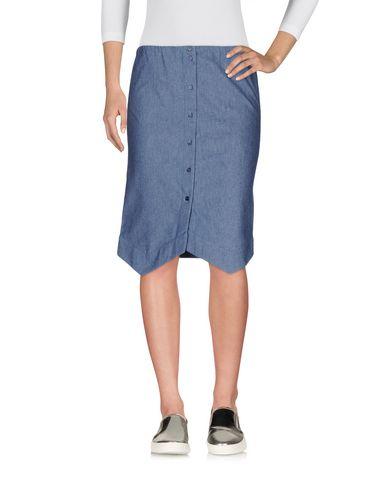 Jil Sander Navy Denim Skirt - Women Jil Sander Navy Denim Skirts ...