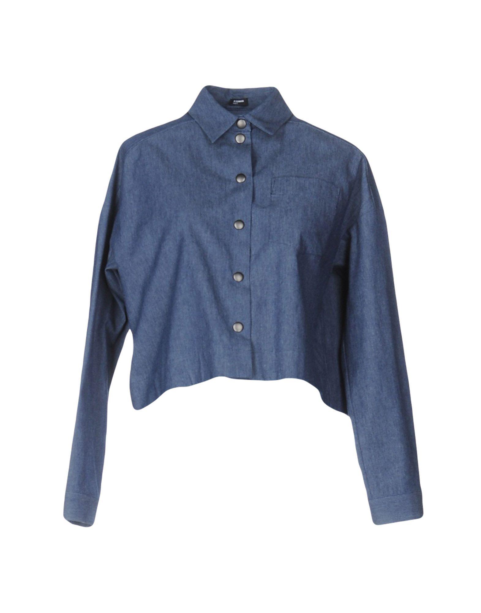 Camicia Di Jeans Jil Sander Navy damen - 42553845TK