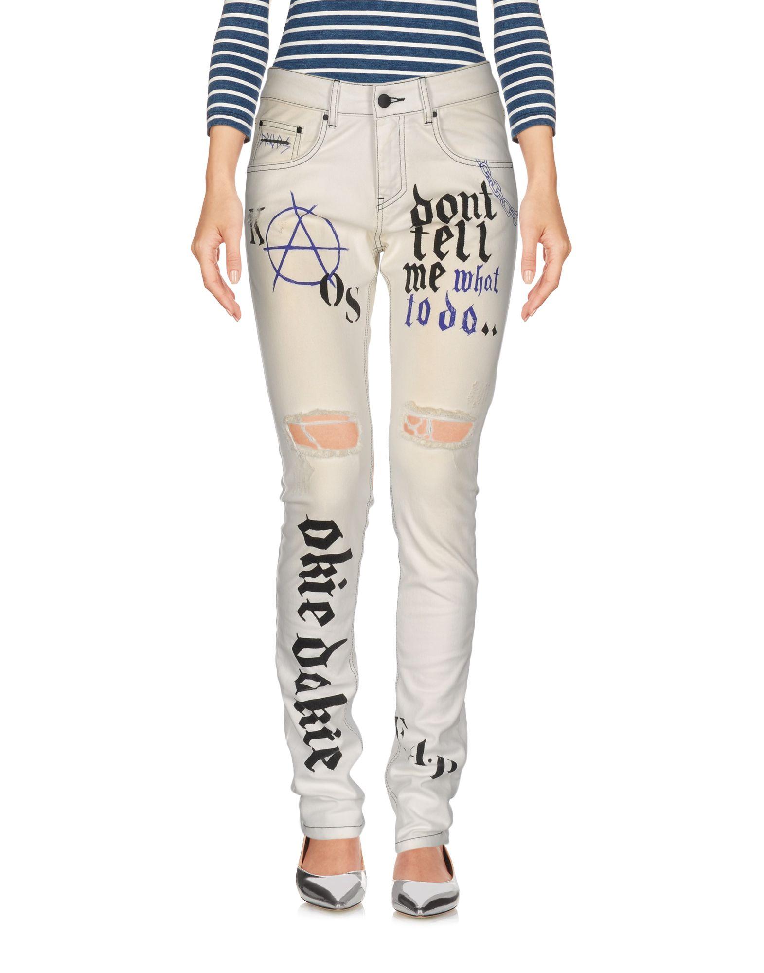 Pantaloni Jeans Fap Filles A Papa Donna - Acquista online su A9q85