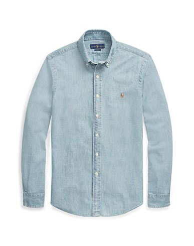 Chemise En Jean Polo Ralph Lauren Slim Fit Chambray Shirt - Homme ... 0083ebd95a74