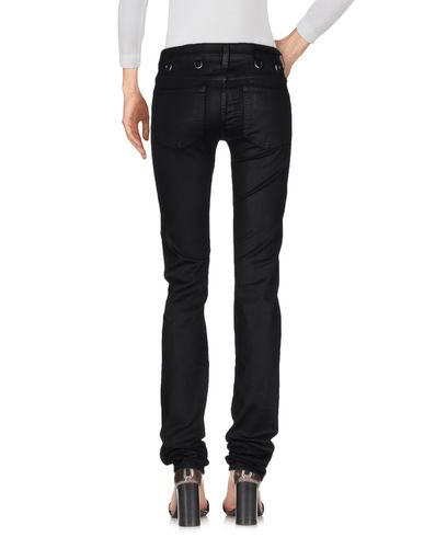 KARL LAGERFELD DENIM PANTS, BLACK