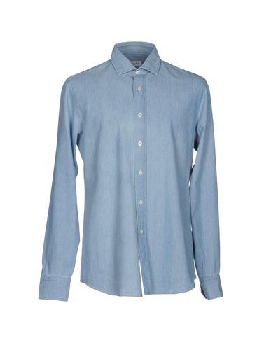 f02ad47bff Salvatore Piccolo Denim Shirt - Men Salvatore Piccolo Denim Shirts ...